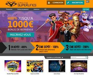 Casino en ligne Superlines