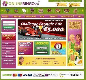 Le meilleur du bingo en ligne sur OnlineBingo