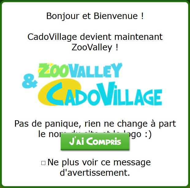 CadoVillage et ZooValley