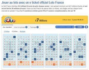 Jouer loteries américaines en ligne
