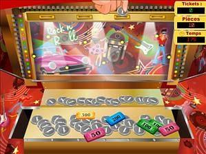 Jeux de casino pousse  pièces