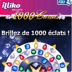 Gagner de l'argent en grattant aux cartes de jeux de Iliko