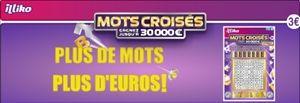 Jouez à la carte de grattage Mots Croisés