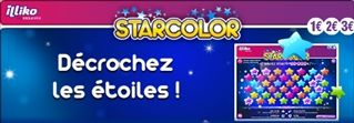La carte de grattage Star Color