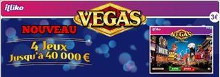 Carte à gratter Vegas