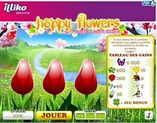 Exclu Web Happy Flowers