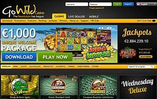 go wild flash casino