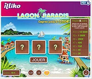 Gratter à l'exclu web Lagon Paradis