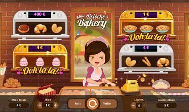 Jeu Mme Brioche Bakery mobile