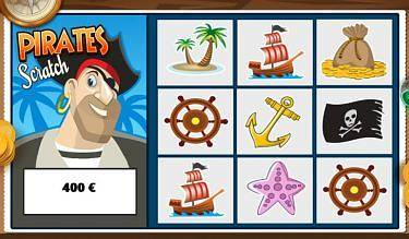 Jeu Pirate Scratch version mobile