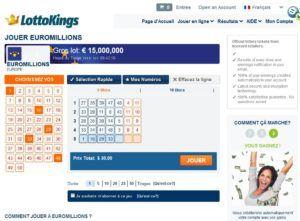jouer sur LottoKings