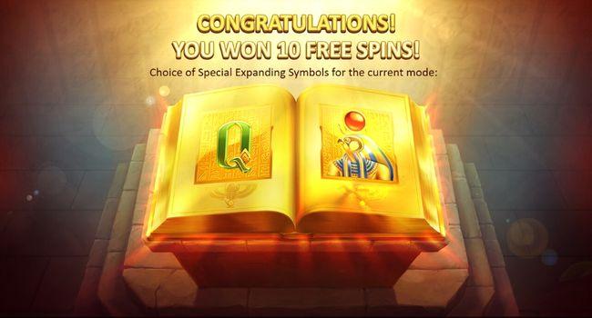 Book of Gold 10 tours gratuits