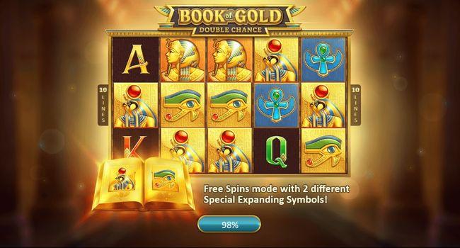 Jouer sur Book of Gold