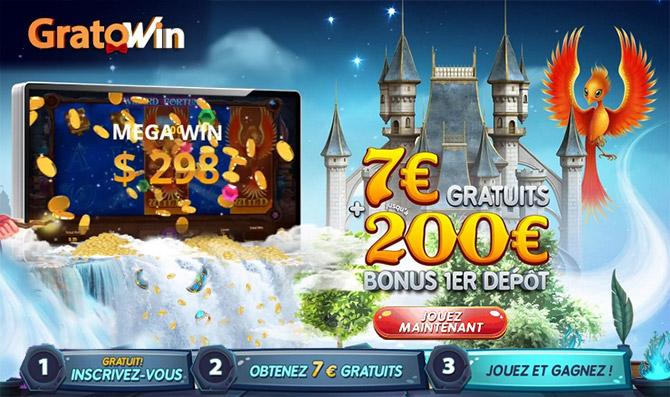 Obtenir facilement le Bonus de 7 euros sur GratoWin